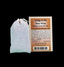 Nuwati Herbals Nuwati Herbal Bath Bag - Going to the Pow Wow