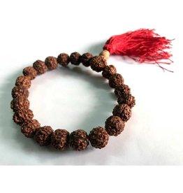 Rudraksha Bead Bracelet w Tassle