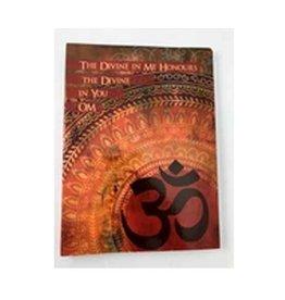 "Divine OM Journal 6""x 8"""
