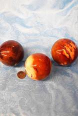 "Carnelian Spheres 2.5"" $77"