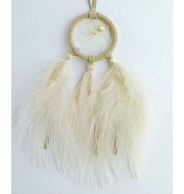 "Monague Native Crafts Tan 1.5"" Dream Catcher"