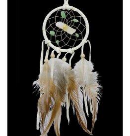 "Monague Native Crafts White 2.5"" Vision Seeker Dream Catcher"