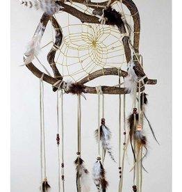 "Monague Native Crafts Brown 12"" Wanderer Dream Catcher"