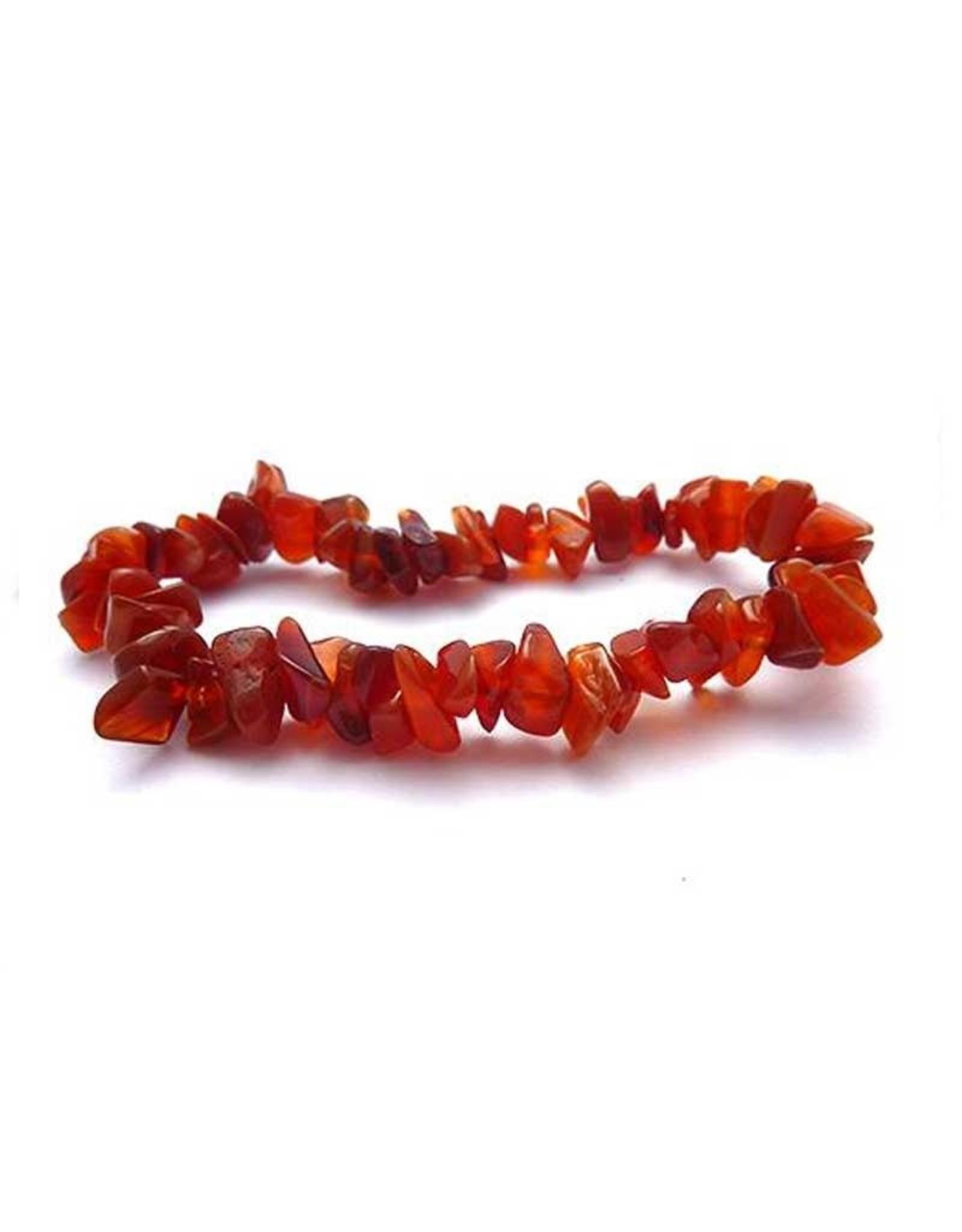 Carnelian - Chip Bracelet