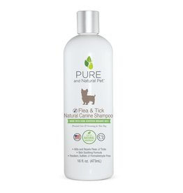 Pure and Natural Pet Flea and Tick Hypoallergenic Shampoo