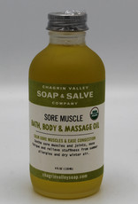 chagrin valley Bath and Body Oil  Sore Muscle and Congestion