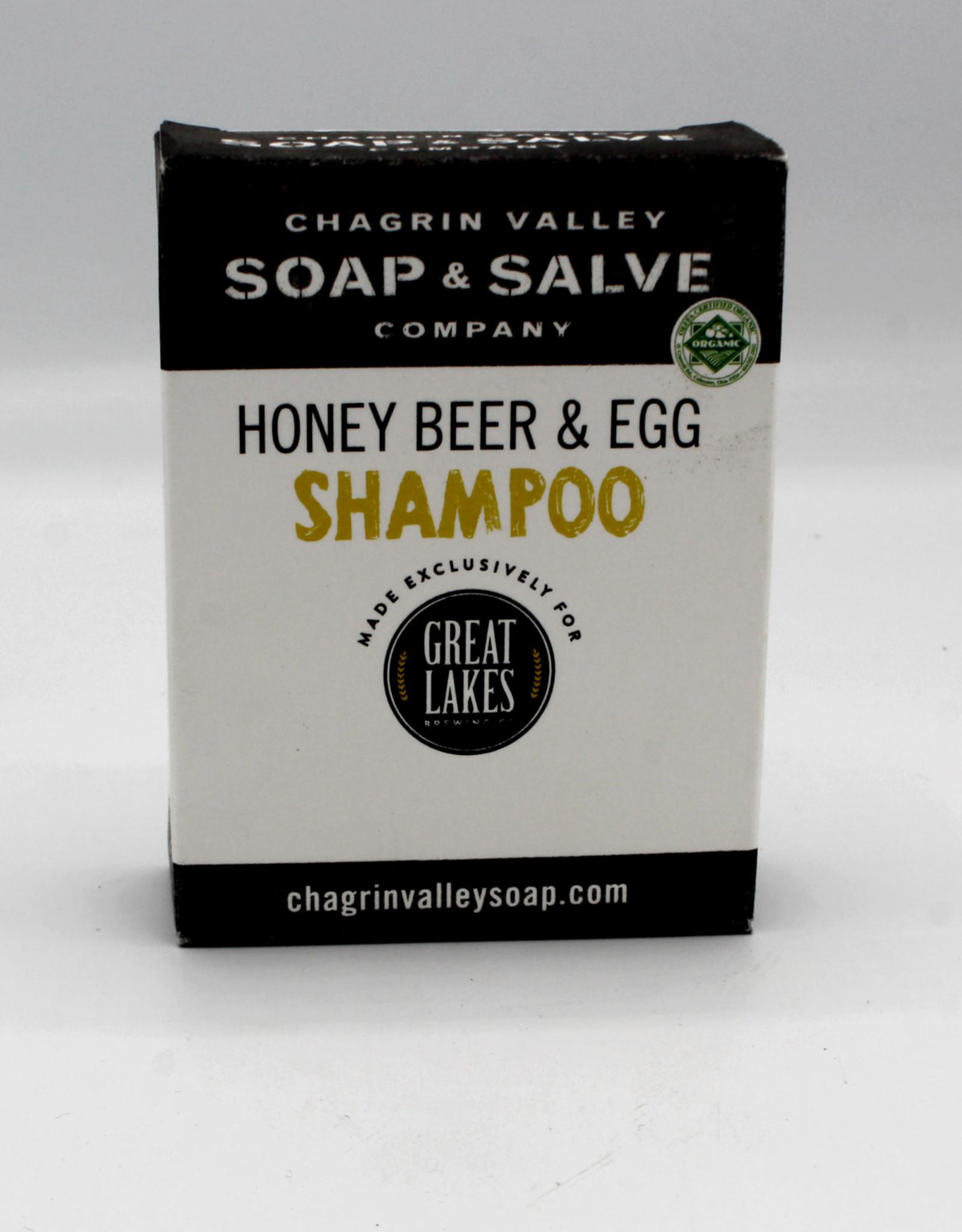 Chagrin Valley Shampoo Bar  Honey, Beer and Egg