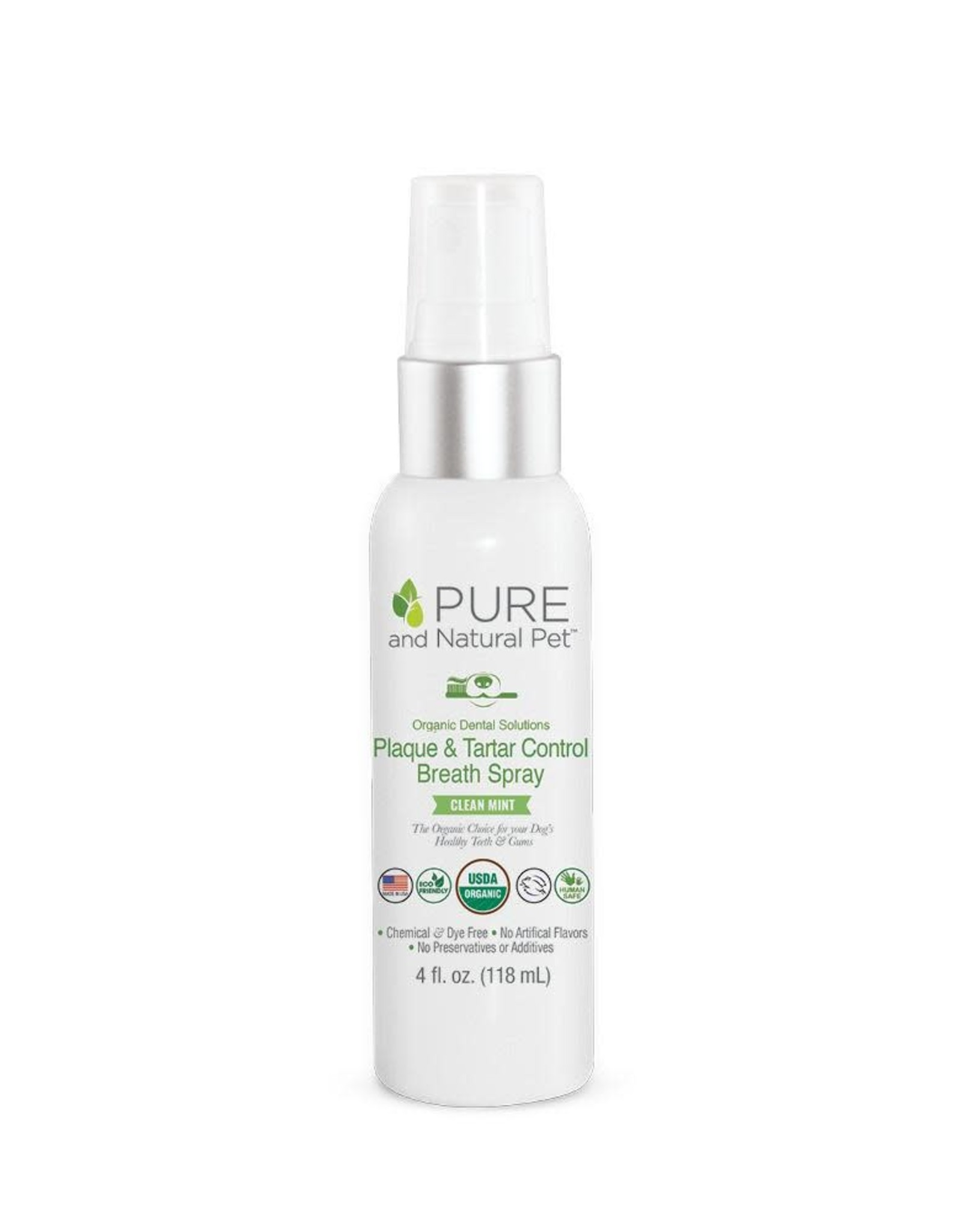 Pure and Natural Pet Plaque & Tarter Control Breath Spray