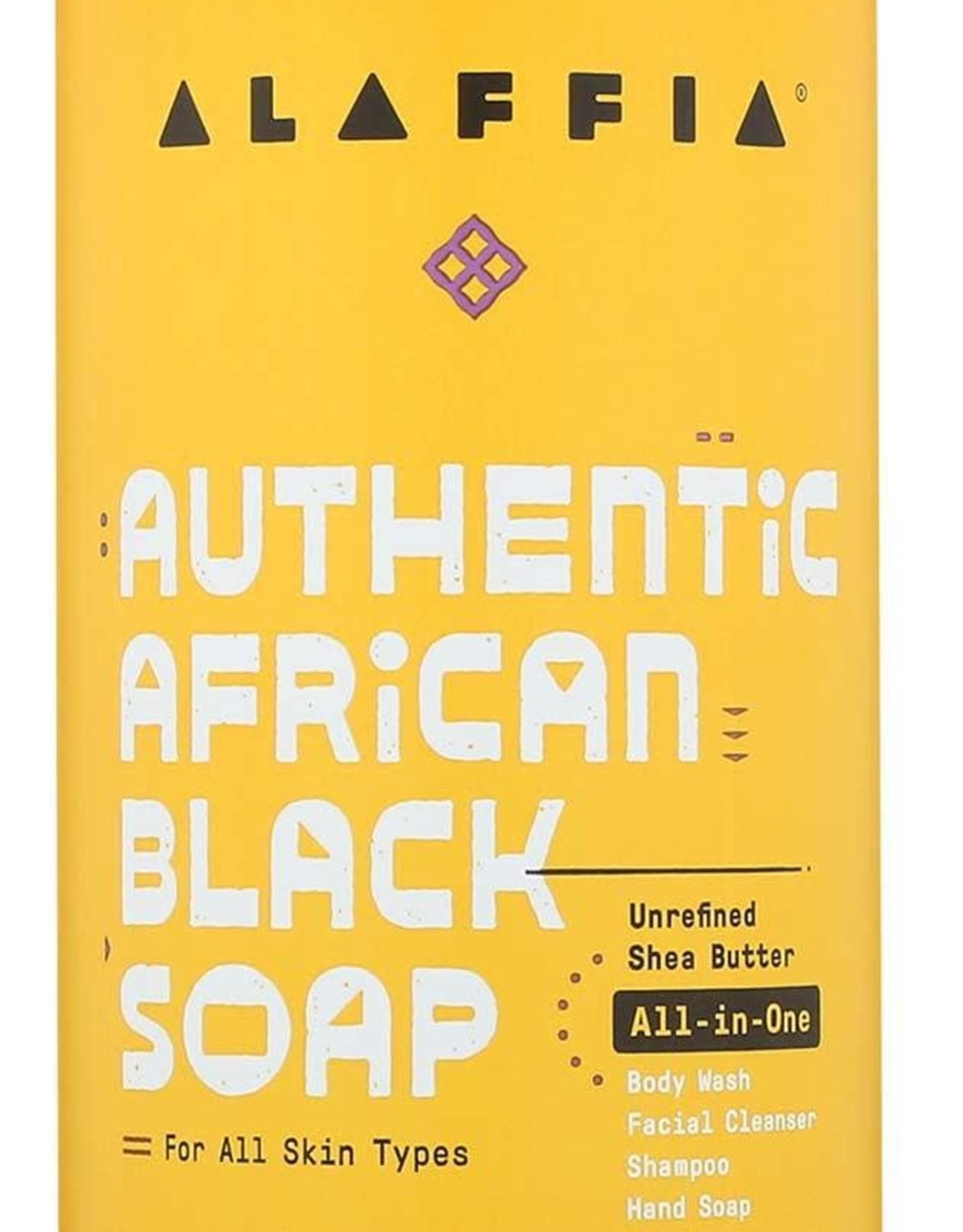 Alaffia Black Soap All-In-One Lavender Yling Ylang
