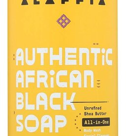 Alaffia Black Soap All-In-One Lavender Yling Ylang