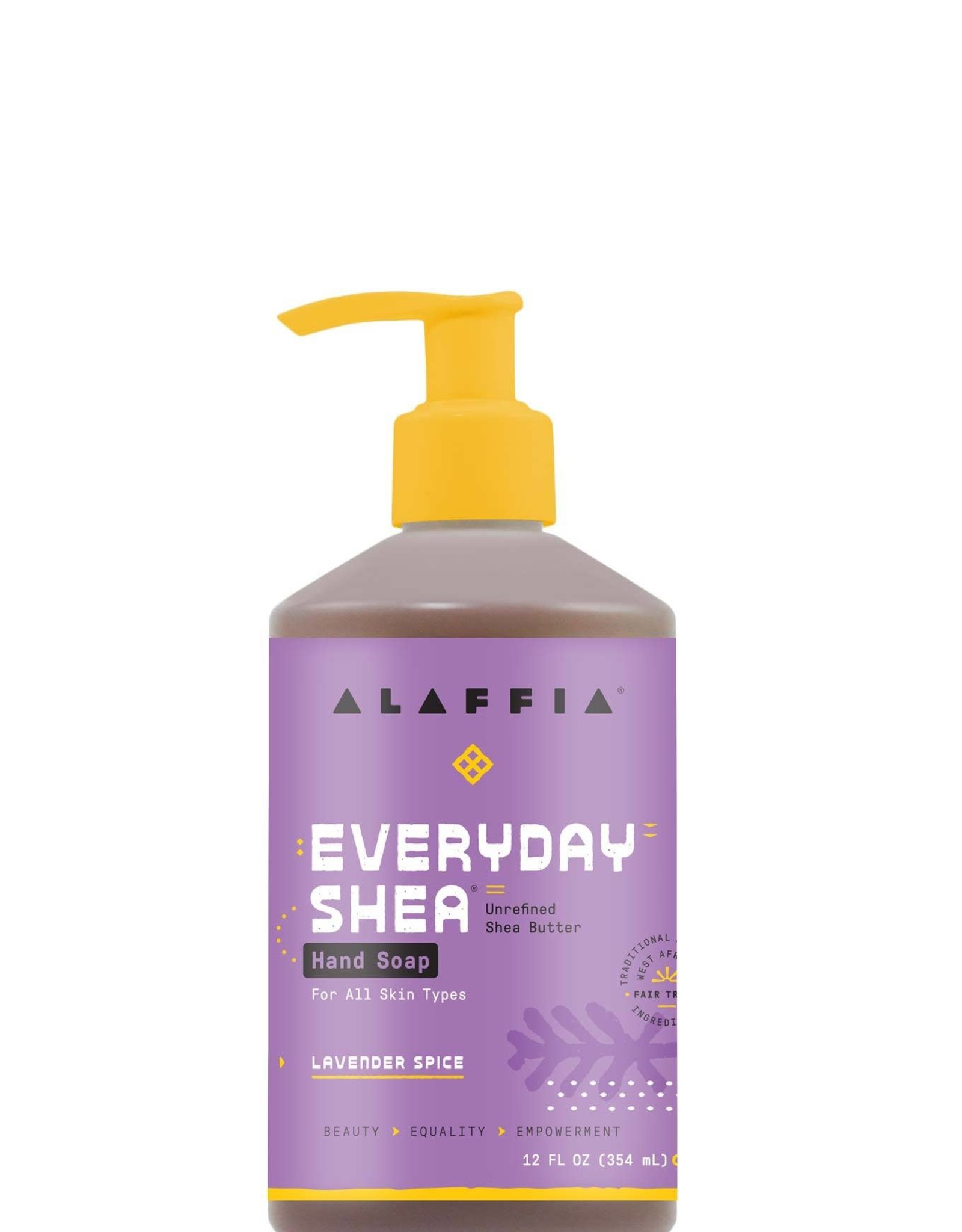 Alaffia EveryDay Shea Hand Soap Lavender Spice