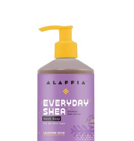 Alaffia EveryDay Shea Hand Soap Lavender Spice