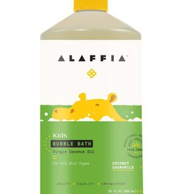 Alaffia Kids Bubble Bath  Coconut Chamomile
