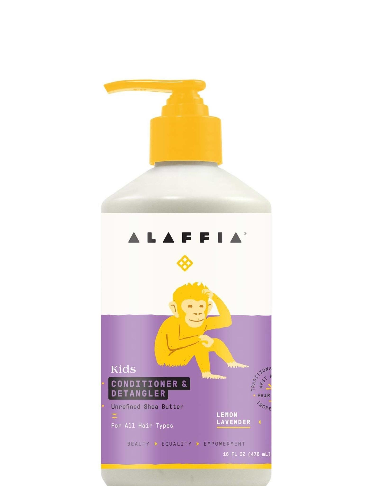 Alaffia Kids Conditioner & Detangler,  Lemon Lavender