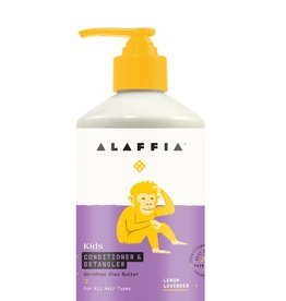 Alaffia Kids Conditioner & Detangler,  Lemon Lavender