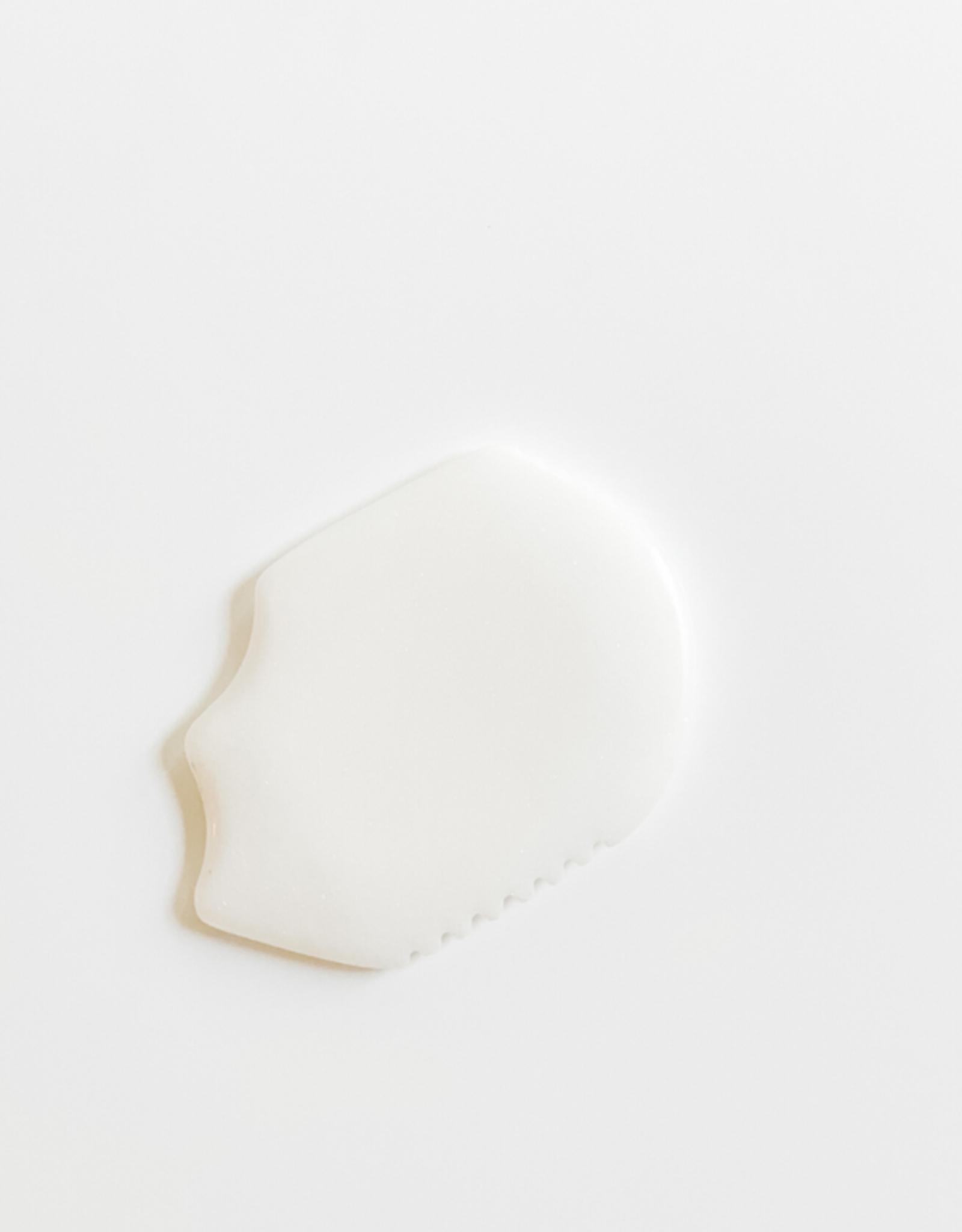 White Jade Gua Facial Massage Stone