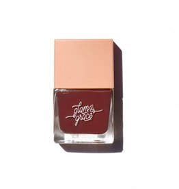 Glam and Grace Nail Polish  Dark Raisin