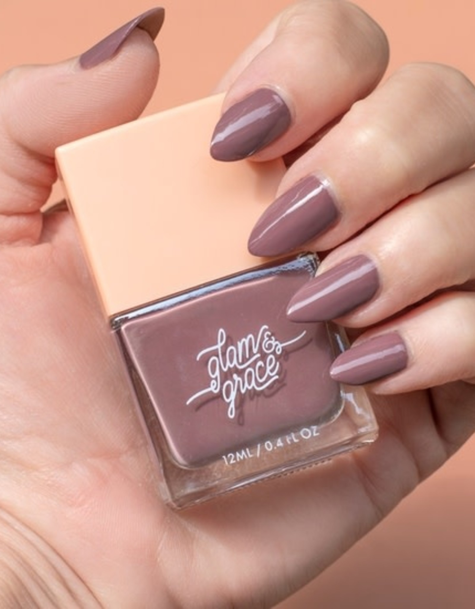 Glam and Grace Nail Polish   Lux Lilac