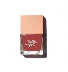 Glam and Grace Nail Polish  Muted Red