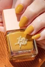 Glam and Grace Nail Polish   Mustard