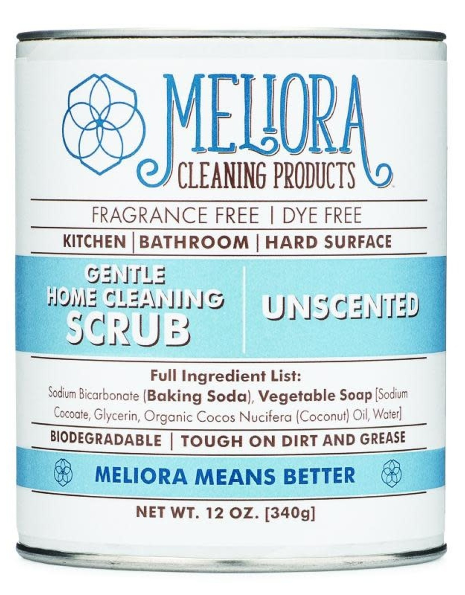 Meliora Gentle Home Cleaning Scrub Unscented