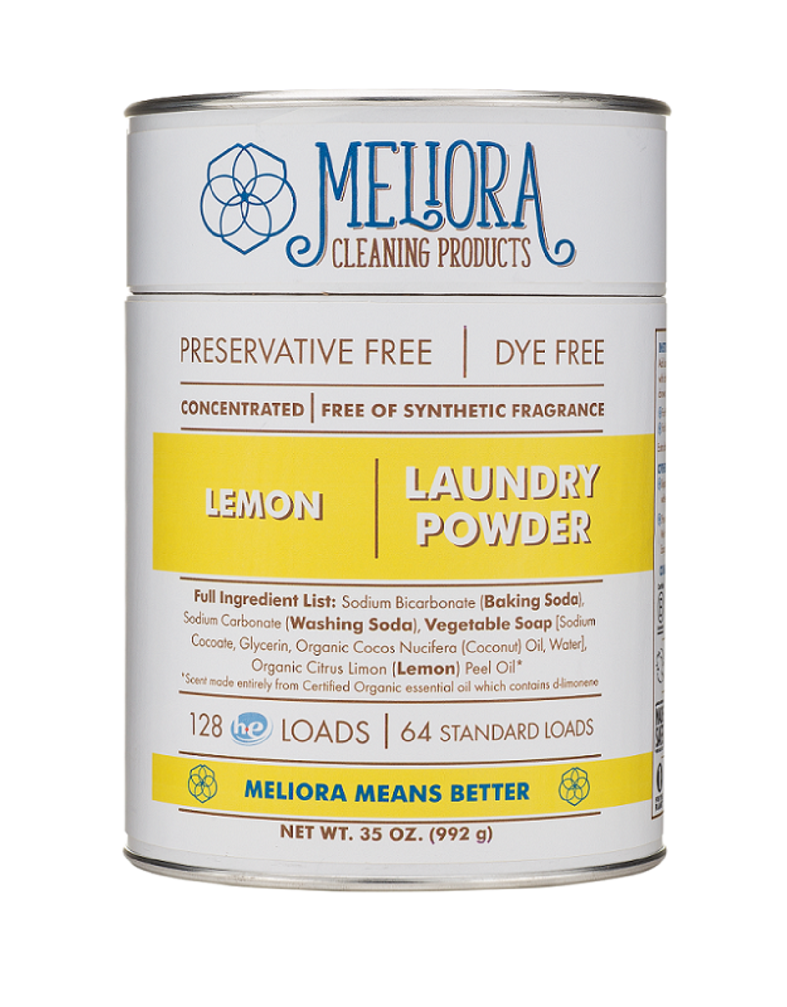 Meliora Lemon Laundry Powder