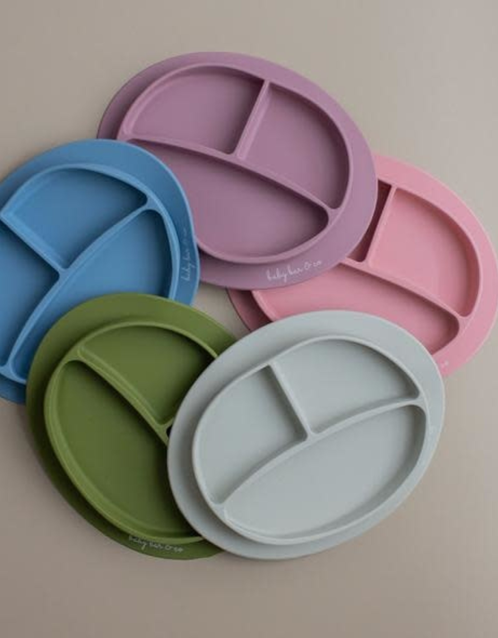 Three Hearts Modern Silicone Plate