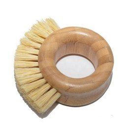 Kitchen Ring Bamboo Brush