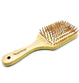Bamboo Paddle Hair Brush Large