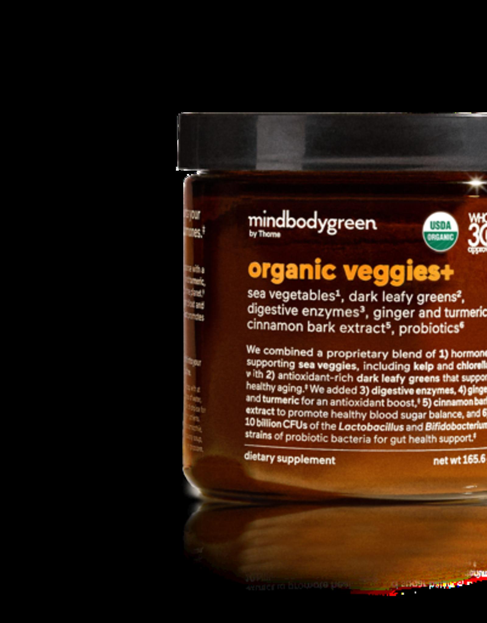 mindbodygreen Organic Veggies + : Mind Body Green Supplement