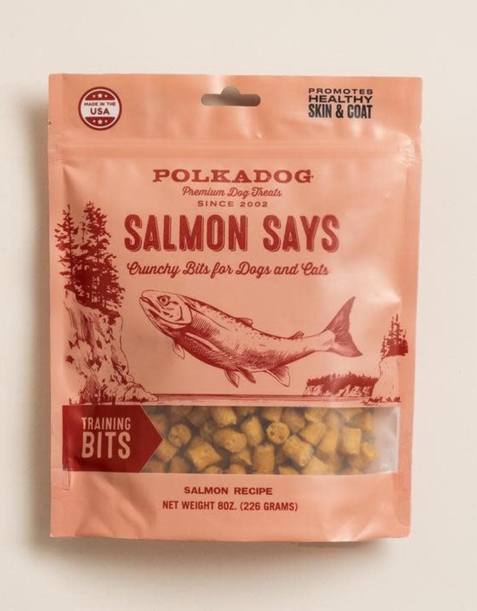 Salmon Says Treats