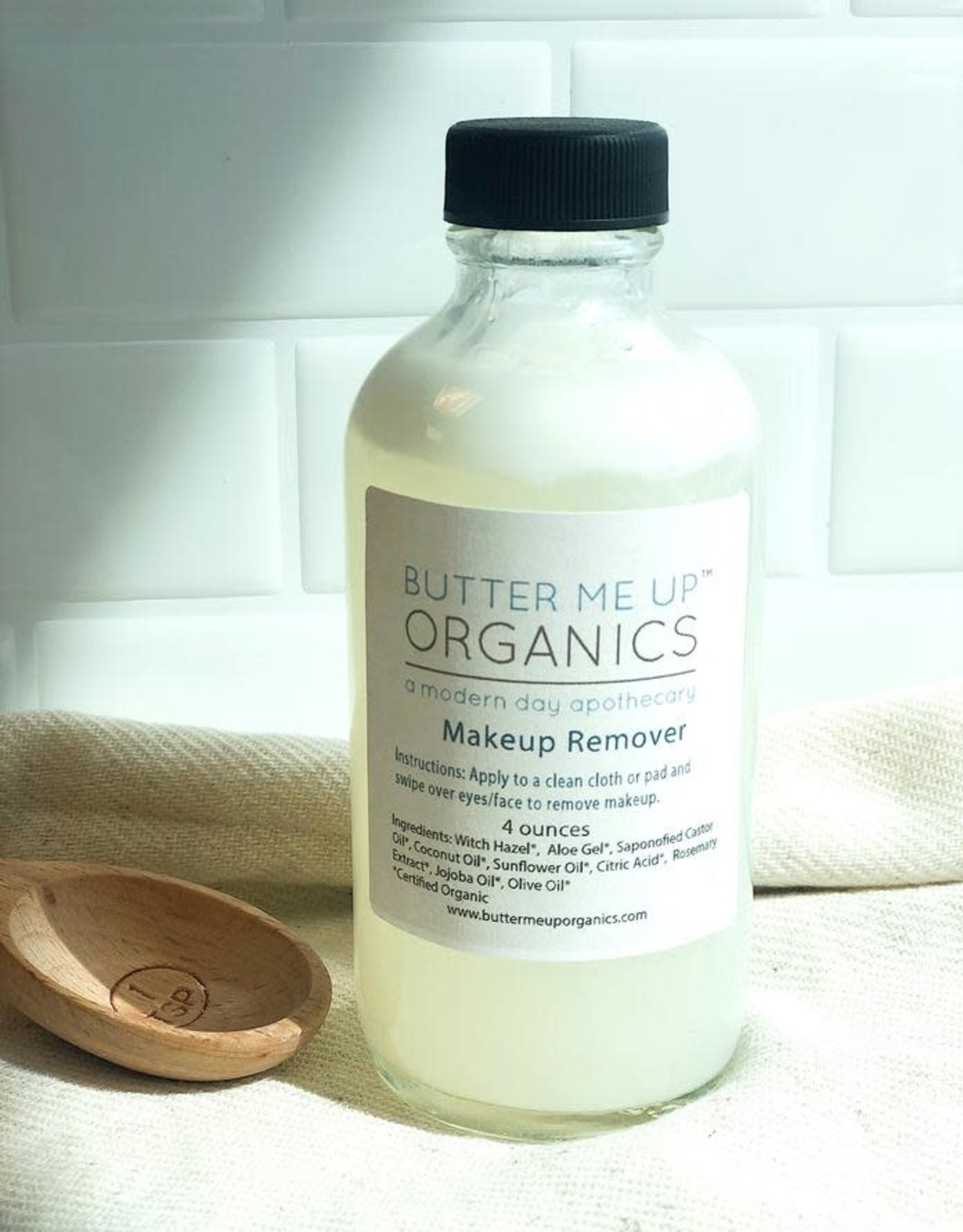 Butter Me Up Organic Makeup Remover