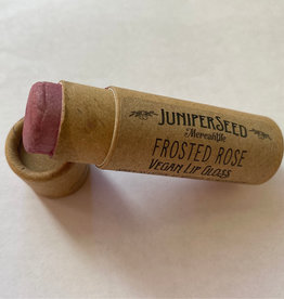 Juniper Seed Frosted Rose Lip Balm