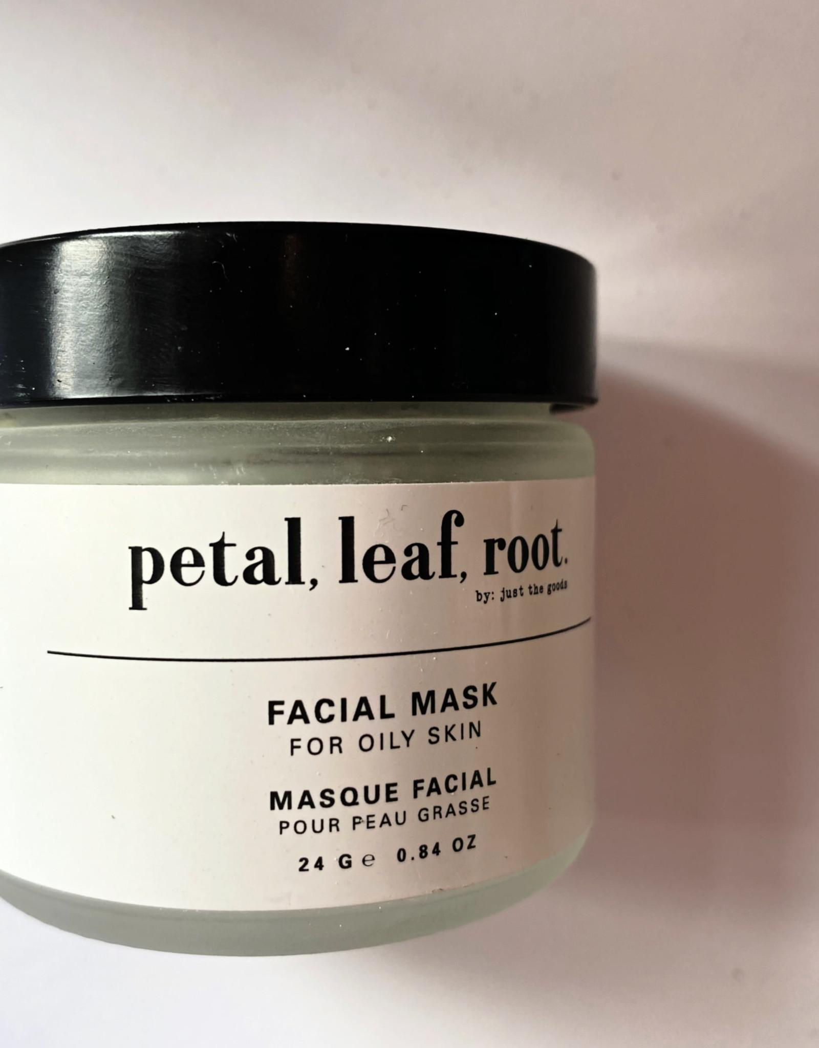 Petal Leaf Root Face Mask