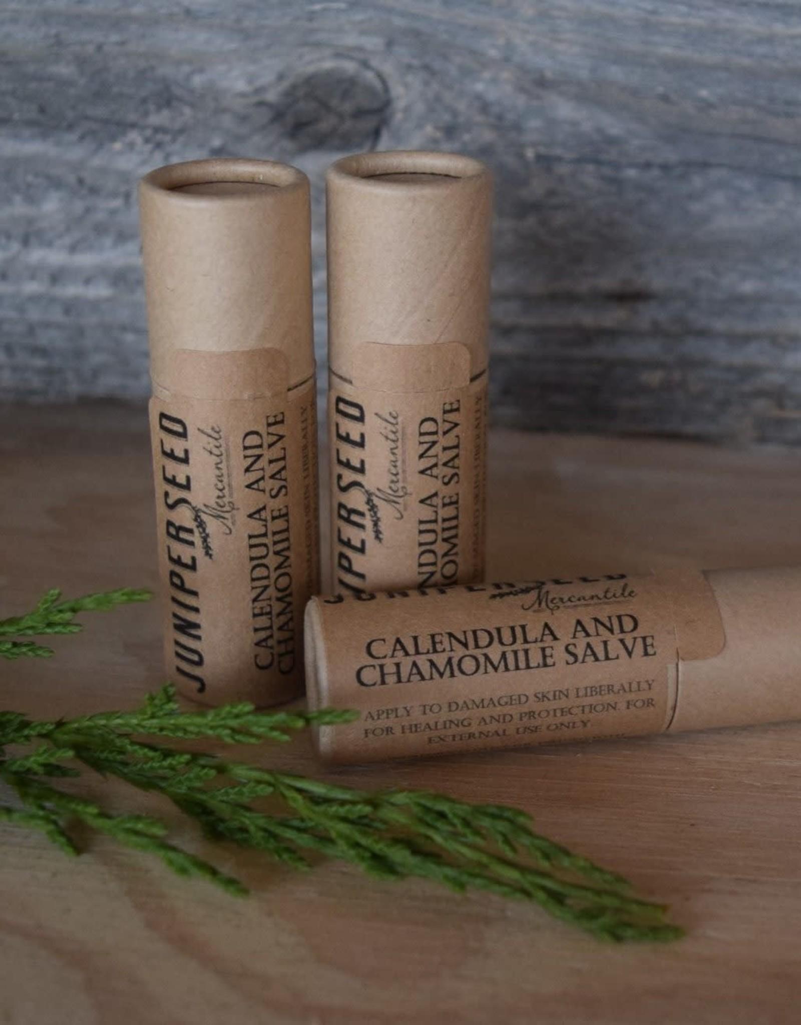 Juniper Seed Calendula and Chamomile Healing Salve