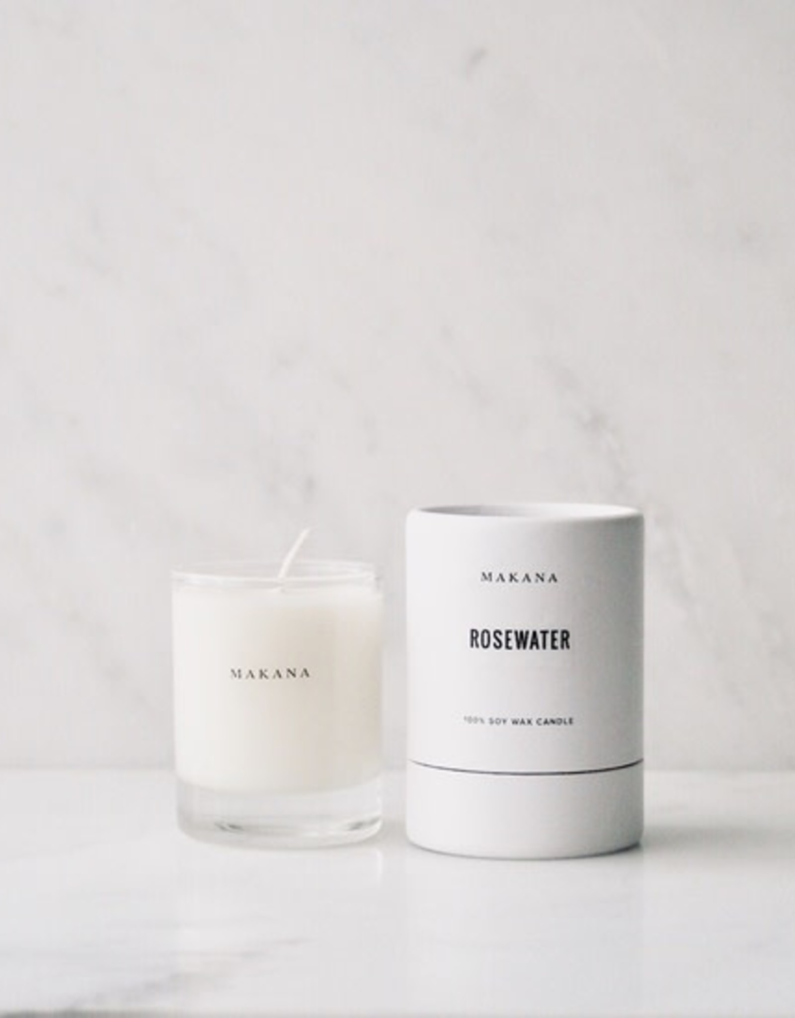 makana Rosewater - Petite Candle 3