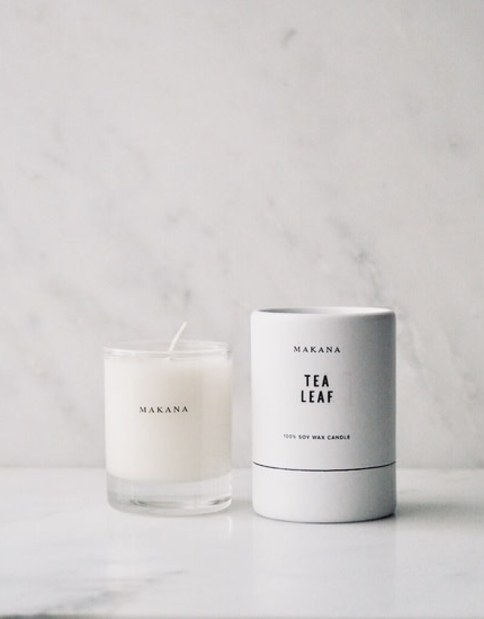 makana Tea Leaf - Petite Candle 3