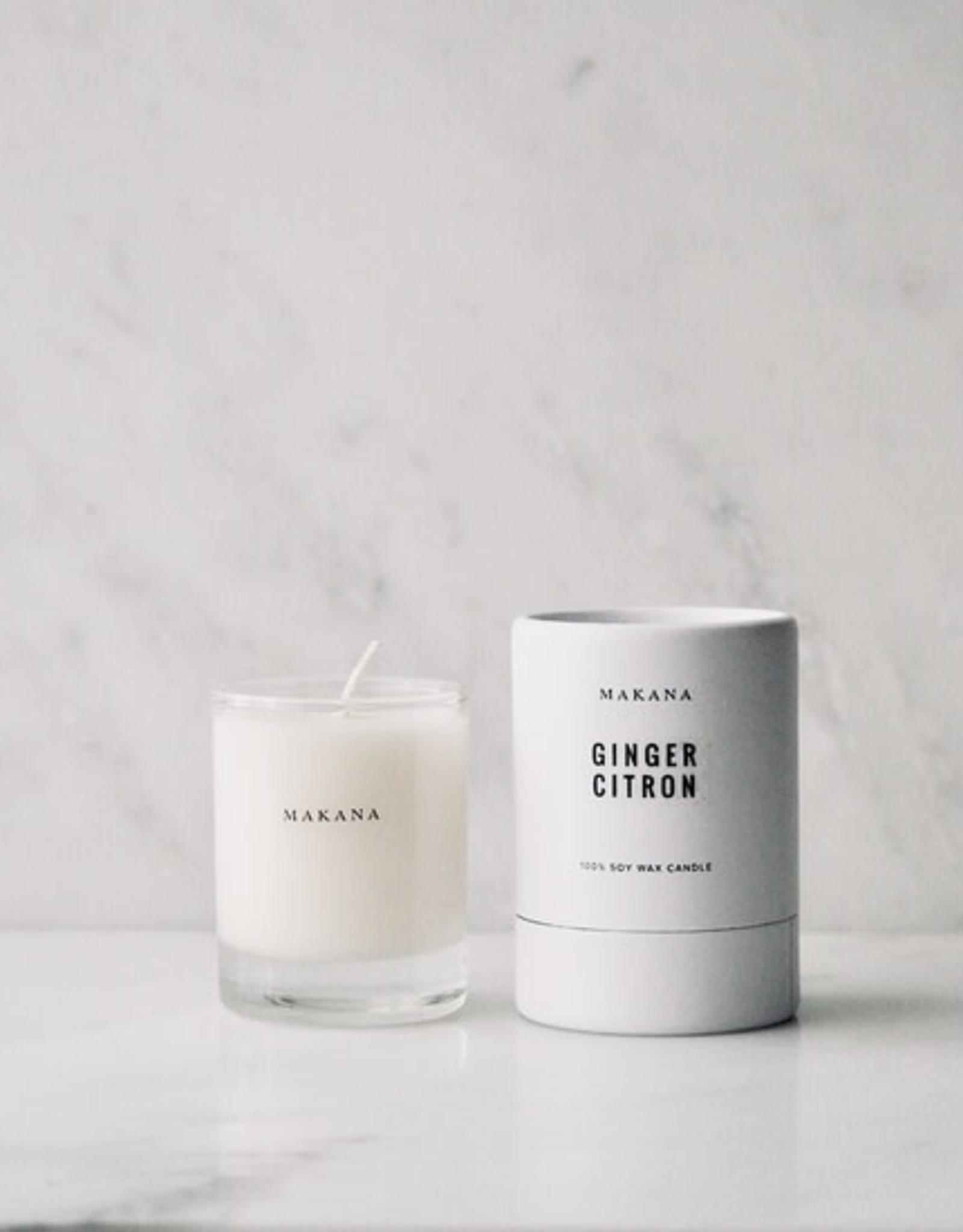 makana Ginger Citron - Petite Candle 3