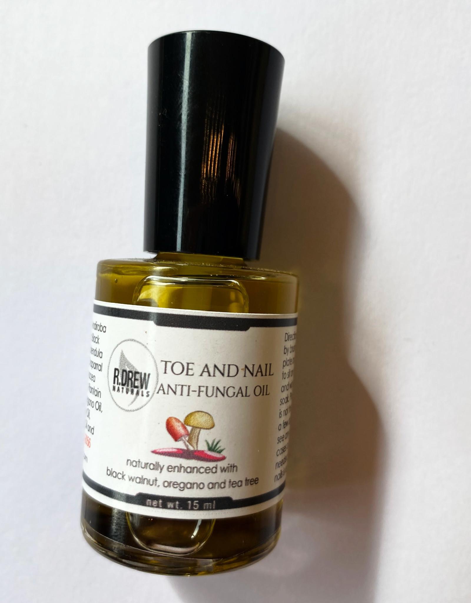 R Drew Naturals Toe and Nail Anti-Fungal Oil