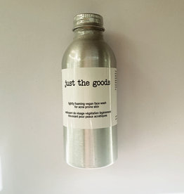 Just the Goods Vegan Face Wash Acne Prone Skin