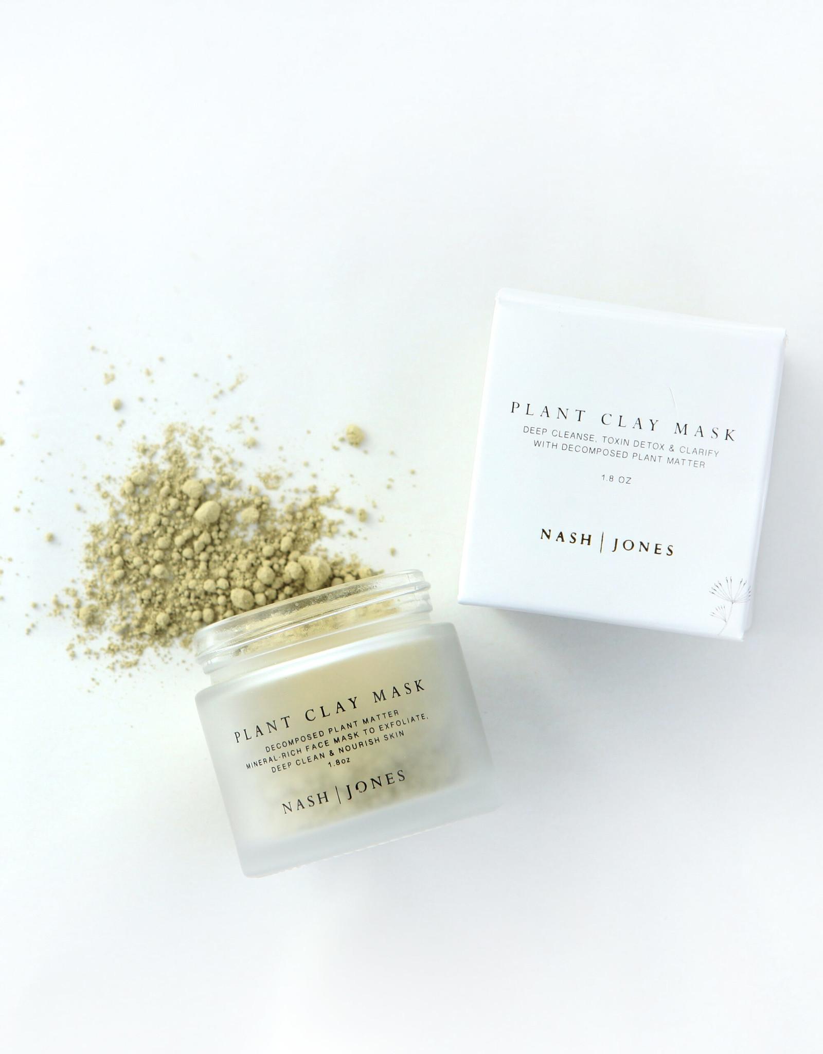 Nash and Jones Plant Clay Mask