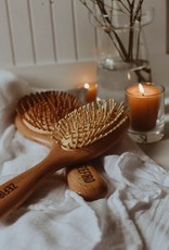 Zefiro Bamboo Hair Brush Small
