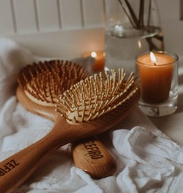Zefiro Bamboo Hair Brush Small