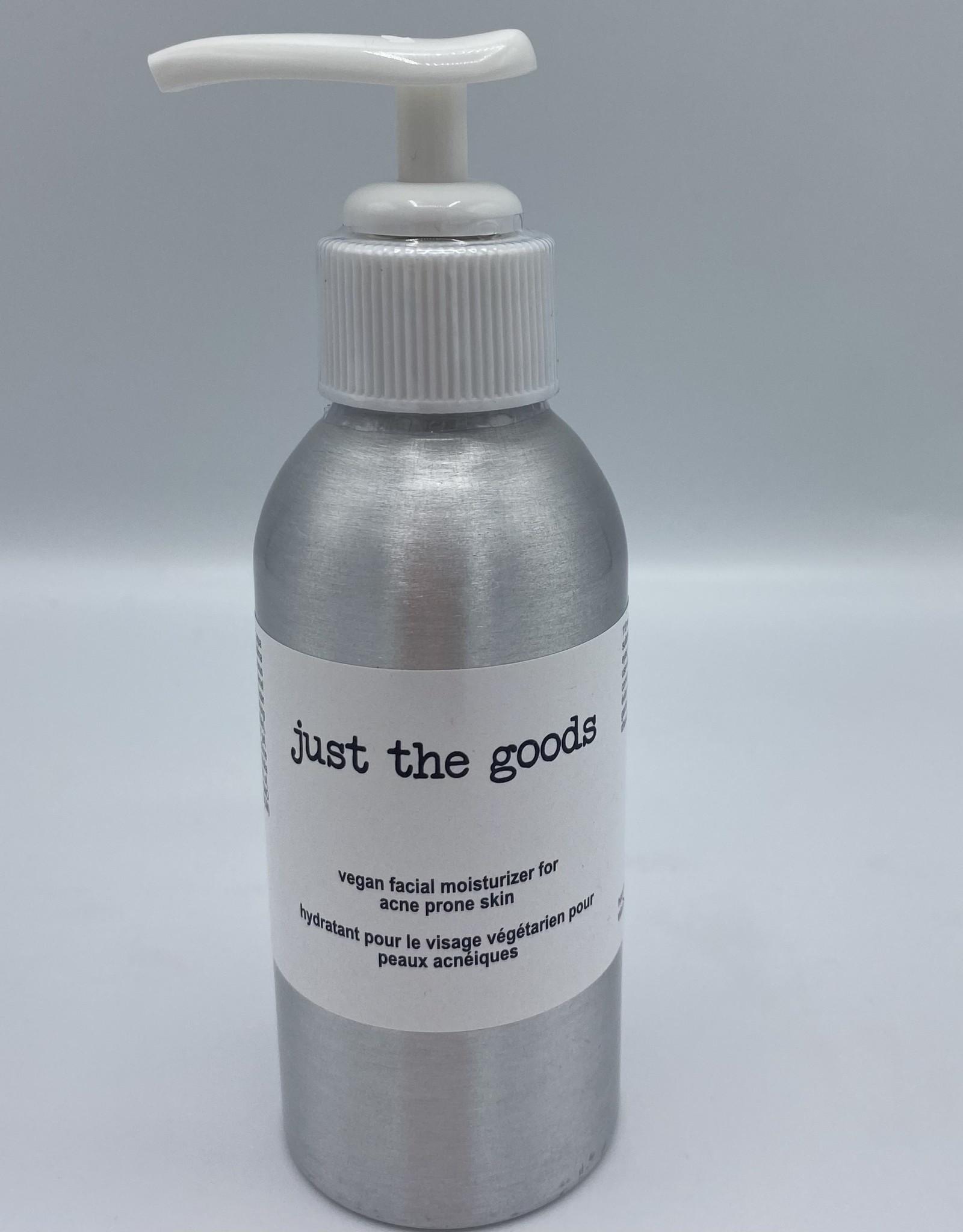 Just the Goods Vegan Moisturizer Acne Prone Skin