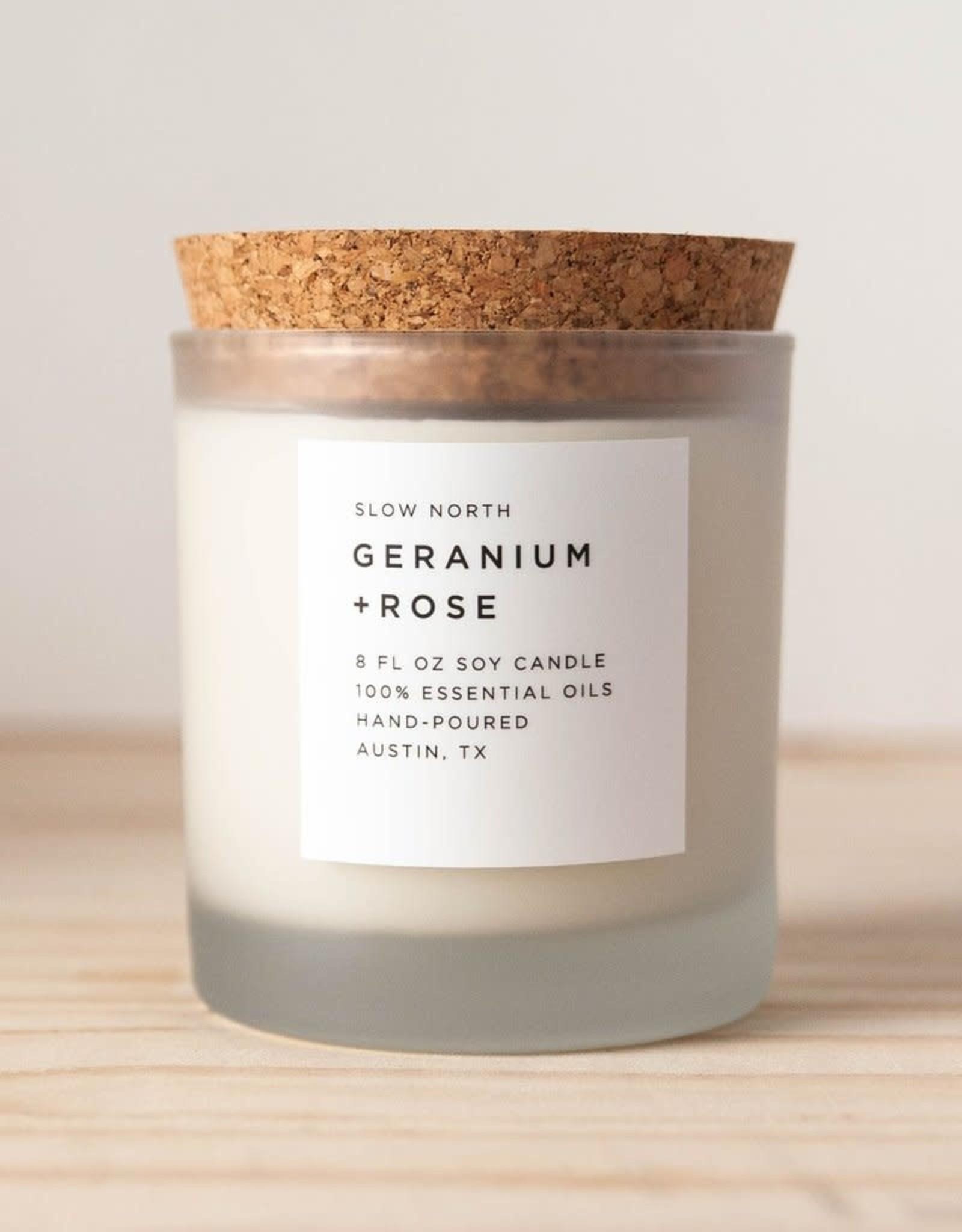 Slow North Geranium Rose