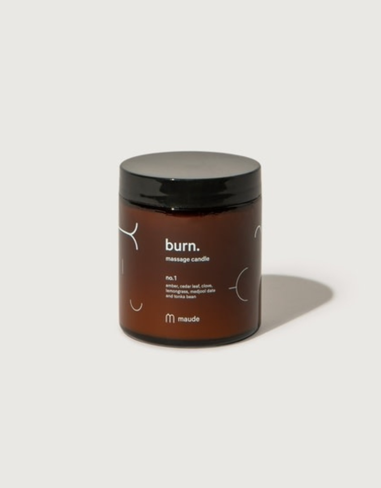 Maude Burn Massage Candle no. 1