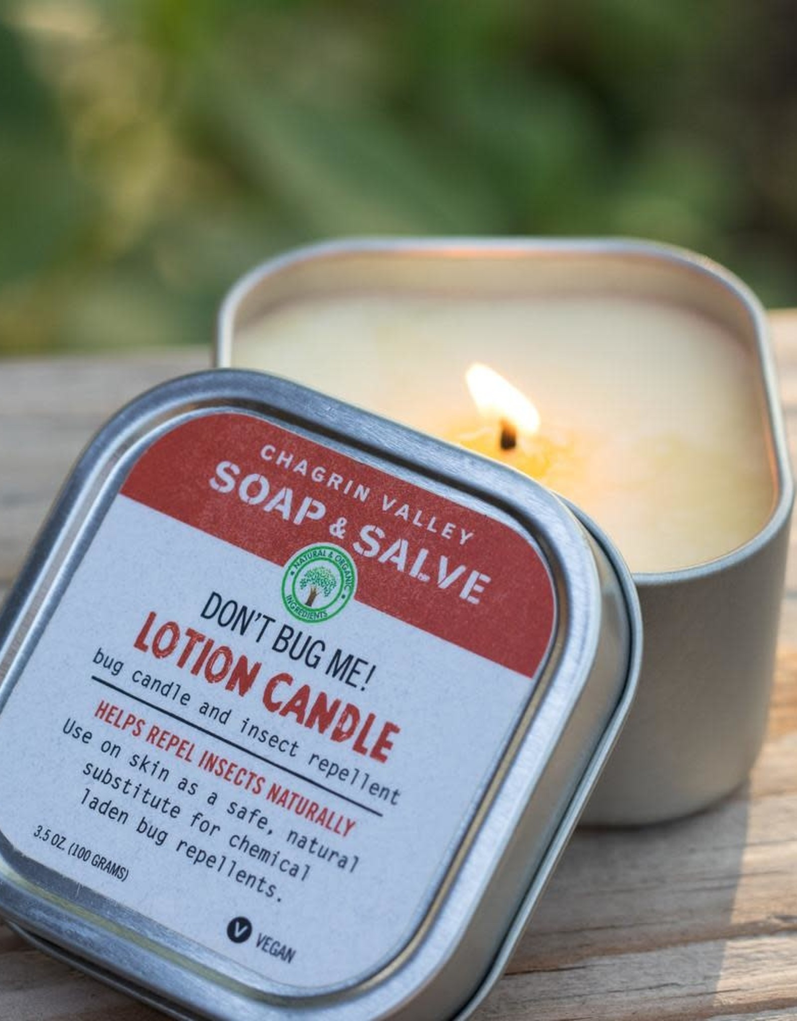 chagrin valley Don't Bug Me! Lotion Candle