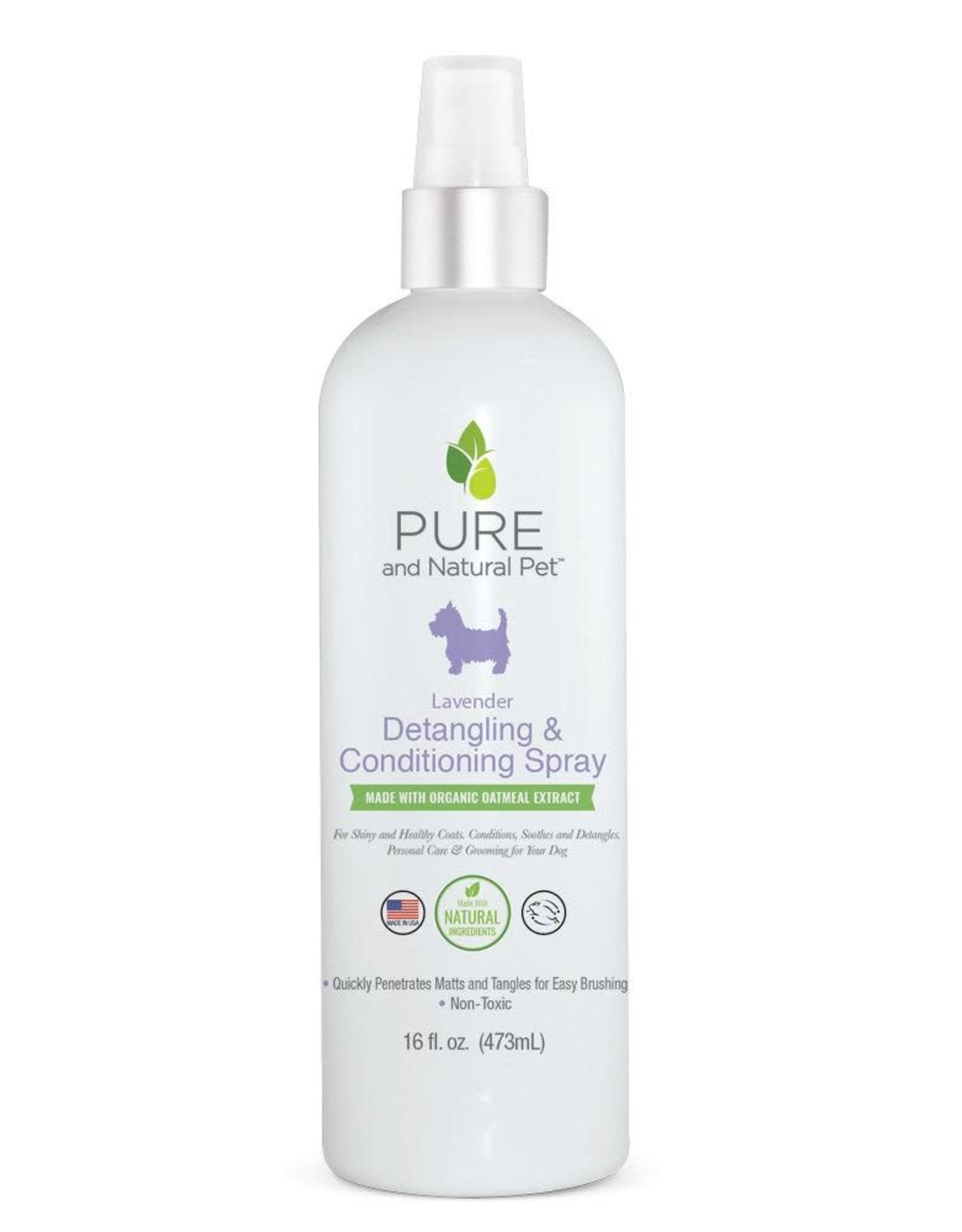 Pure and Natural Pet Detangling & Conditioning Spray