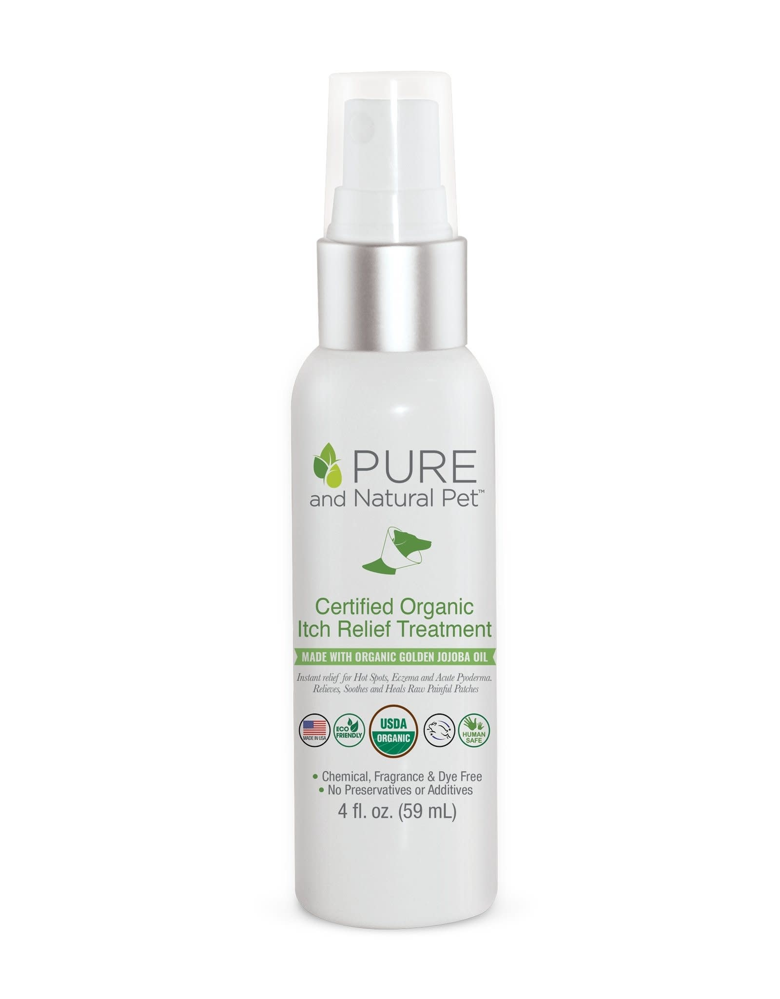 Pure and Natural Pet Itch Relief & Hot Spot Oil