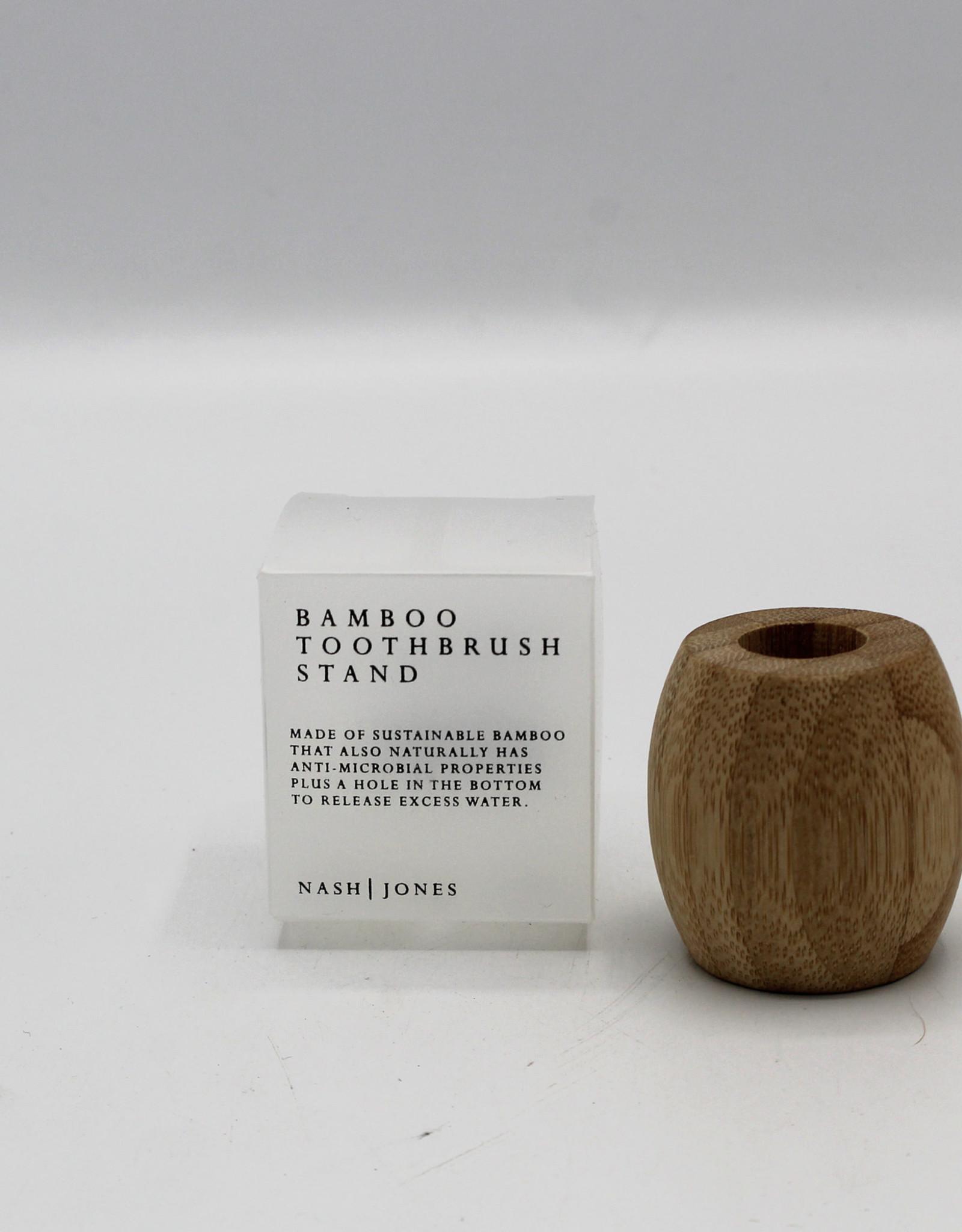 Nash and Jones Bamboo Toothbrush Stand